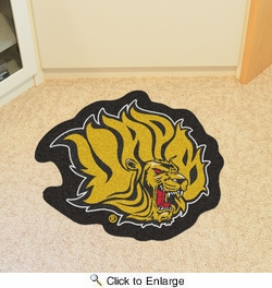 Fan Mats 18715  University of Arkansas at Pine Bluff Golden Lions Mascot Mat