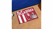 "Fan Mats 18770  University of Oklahoma Sooners 19"" x 30"" Uniform Inspired Starter Mat"