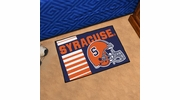"Fan Mats 18779  Syracuse University Orange 19"" x 30"" Uniform Inspired Starter Mat"