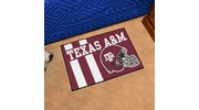 "Fan Mats 18781  Texas A&M University Aggies 19"" x 30"" Uniform Inspired Starter Mat"