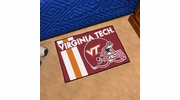 "Fan Mats 18786  Virginia Tech Hokies 19"" x 30"" Uniform Inspired Starter Mat"