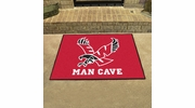 "Fan Mats 18817  Eastern Washington University Eagles 33.75"" x 42.5"" Man Cave All-Star Mat"