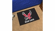 "Fan Mats 18820  Eastern Washington University Eagles 19"" x 30"" Man Cave Starter Mat"