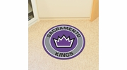 "Fan Mats 18851  NBA - Sacramento Kings 27"" diameter Roundel Mat"