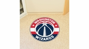 "Fan Mats 18855  NBA - Washington Wizards 27"" diameter Roundel Mat"