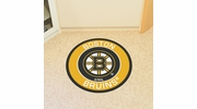 "Fan Mats 18863  NHL - Boston Bruins 27"" diameter Roundel Mat"