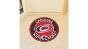 "Fan Mats 18866  NHL - Carolina Hurricanes 27"" diameter Roundel Mat"