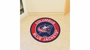 "Fan Mats 18869  NHL - Columbus Blue Jackets 27"" diameter Roundel Mat"