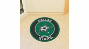 "Fan Mats 18870  NHL - Dallas Stars 27"" diameter Roundel Mat"