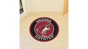 "Fan Mats 18883  NHL - Arizona Coyotes 27"" diameter Roundel Mat"
