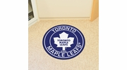 "Fan Mats 18888  NHL - Toronto Maple Leafs 27"" diameter Roundel Mat"