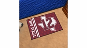 "Fan Mats 18915  Texas A&M University Aggies 19"" x 30"" Starter Mat"