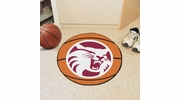 """Fan Mats 1894  Chico State Wildcats 27"""" Diameter Basketball Shaped Area Rug"""
