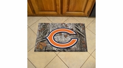 "Fan Mats 18947  NFL - Chicago Bears 19"" x 30"" Scraper Mat - Camo Design"