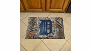 "Fan Mats 19023  MLB - Detroit Tigers 19"" x 30"" Scraper Mat - Camo Design"