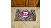 "Fan Mats 19045  MLB - Philadelphia Phillies 19"" x 30"" Scraper Mat - Camo Design"