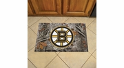"Fan Mats 19127  NHL - Boston Bruins 19"" x 30"" Scraper Mat - Camo Design"