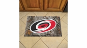 "Fan Mats 19133  NHL - Carolina Hurricanes 19"" x 30"" Scraper Mat - Camo Design"
