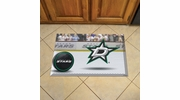 "Fan Mats 19140  NHL - Dallas Stars 19"" x 30"" Scraper Mat - Puck Design"
