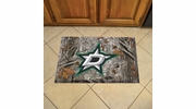 "Fan Mats 19141  NHL - Dallas Stars 19"" x 30"" Scraper Mat - Camo Design"