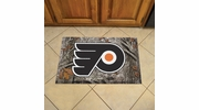 "Fan Mats 19165  NHL - Philadelphia Flyers 19"" x 30"" Scraper Mat - Camo Design"