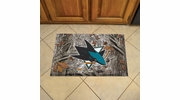 "Fan Mats 19171  NHL - San Jose Sharks 19"" x 30"" Scraper Mat - Camo Design"