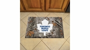 "Fan Mats 19177  NHL - Toronto Maple Leafs 19"" x 30"" Scraper Mat - Camo Design"