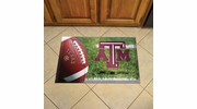 "Fan Mats 19200  Texas A&M University Aggies 19"" x 30"" Scraper Mat - Ball Design"