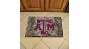 "Fan Mats 19201  Texas A&M University Aggies 19"" x 30"" Scraper Mat - Camo Design"