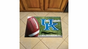"Fan Mats 19216  University of Kentucky Wildcats 19"" x 30"" Scraper Mat - Ball Design"