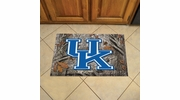"Fan Mats 19217  University of Kentucky Wildcats 19"" x 30"" Scraper Mat - Camo Design"