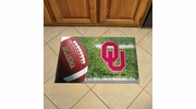 "Fan Mats 19226  University of Oklahoma Sooners 19"" x 30"" Scraper Mat - Ball Design"