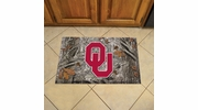 "Fan Mats 19227  University of Oklahoma Sooners 19"" x 30"" Scraper Mat - Camo Design"
