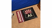 "Fan Mats 19253  NHL - Arizona Coyotes 19"" x 30"" Starter Mat"