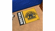 "Fan Mats 19254  NHL - Boston Bruins 19"" x 30"" Starter Mat"