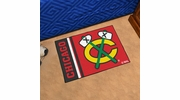 "Fan Mats 19258  NHL - Chicago Blackhawks 19"" x 30"" Starter Mat"