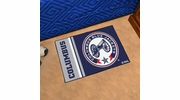 "Fan Mats 19260  NHL - Columbus Blue Jackets 19"" x 30"" Starter Mat"