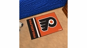 "Fan Mats 19273  NHL - Philadelphia Flyers 19"" x 30"" Starter Mat"