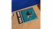"Fan Mats 19275  NHL - San Jose Sharks 19"" x 30"" Starter Mat"