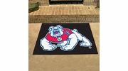 "Fan Mats 19282  Fresno State Bulldogs 33.75"" x 42.5"" All Star Mat"