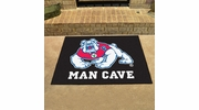 "Fan Mats 19284  Fresno State Bulldogs 33.75"" x 42.5"" Man Cave All-Star Mat"