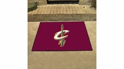 "Fan Mats 19432  NBA - Cleveland Cavaliers 33.75"" x 42.5"" All Star Mat"