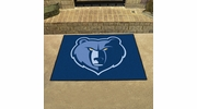 "Fan Mats 19449  NBA - Memphis Grizzlies 33.75"" x 42.5"" All Star Mat"