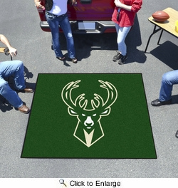 Fan Mats 19454  NBA - Milwaukee Bucks 5' x 6' Tailgater Mat