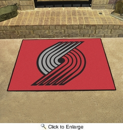 "Fan Mats 19471  NBA - Portland Trail Blazers 33.75"" x 42.5"" All Star Mat"
