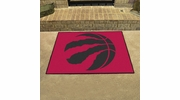 "Fan Mats 19477  NBA - Toronto Raptors 33.75"" x 42.5"" All Star Mat"