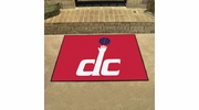 "Fan Mats 19481  NBA - Washington Wizards 33.75"" x 42.5"" All Star Mat"