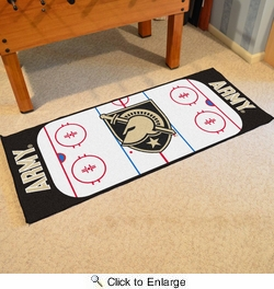 "Fan Mats 19495  Army West Point Black Knights 30"" x 72"" Rink Runner"