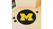 "Fan Mats 19519  University of Michigan Wolverines 27"" diameter Puck Mat"