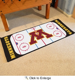 "Fan Mats 19528  University of Minnesota Golden Gophers 30"" x 72"" Rink Runner"